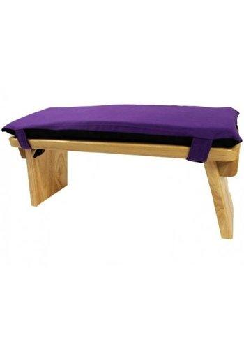 Yogi & Yogini naturals Meditatiebankkussen violet