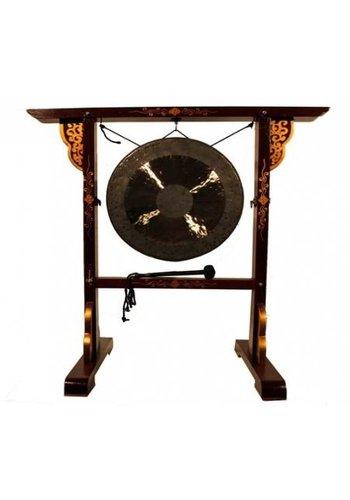 Yogi & Yogini naturals Gong standaard voor gongs tot 65 cm (112x110 cm)