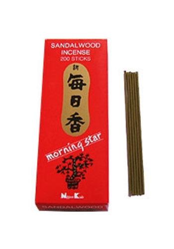 Morning Star Wierook Morning Star sandelhout (200 sticks)