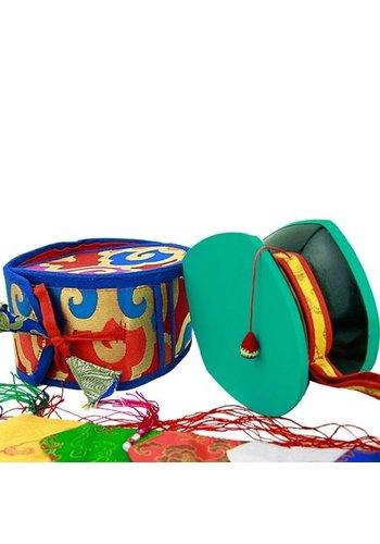 Yogi & Yogini naturals Mystieke rituele drum (Damaru)