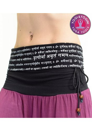 Yogi & Yogini naturals Yogabroek Mantra breath easy 1 maat unisex