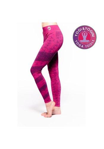 Yogi & Yogini naturals Yoga-legging Ashtanga roze S-M
