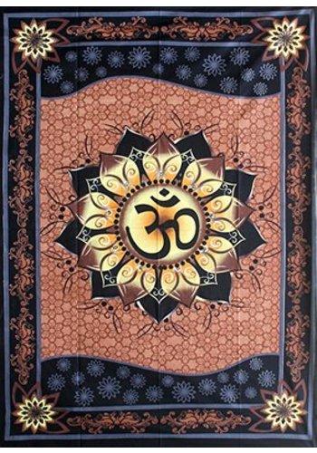 Yogi & Yogini naturals Wandkleed OM lotus