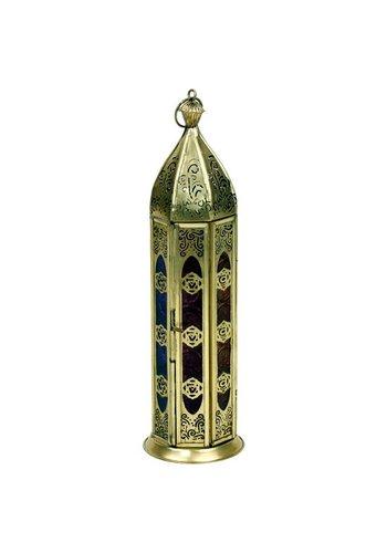 Yogi & Yogini naturals Sfeerlicht oosterse lantaarn zeven chakra's