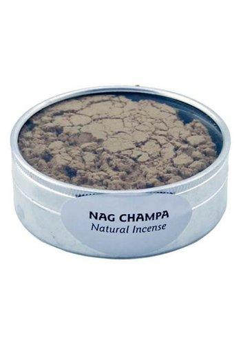 Yogi & Yogini naturals Nag Champa wierook poeder (± 30 gram)