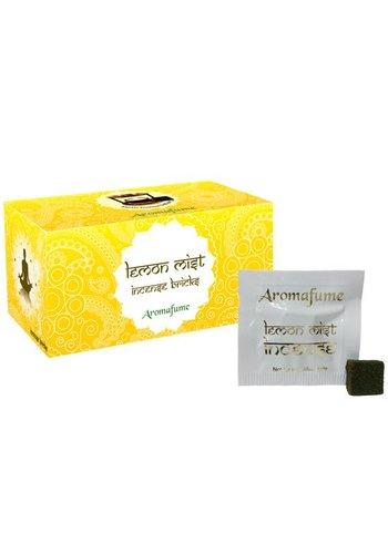 Aromafume Aromafume wierookblokjes Lemon Mist (40 gram)