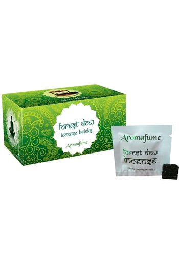 Aromafume Aromafume wierookblokjes Forest Dew (40 gram)