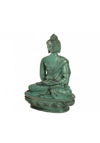 Yogi & Yogini naturals Boeddhabeeldje groen