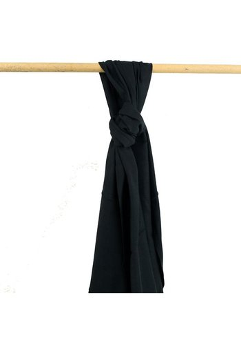 Yogi & Yogini naturals Sjaal zwart (70x200 cm)