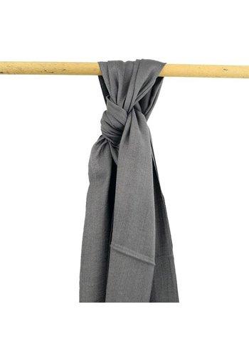 Yogi & Yogini naturals Sjaal antraciet (70x200 cm)
