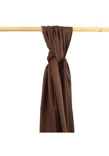 Yogi & Yogini naturals Sjaal bruin (70x200 cm)