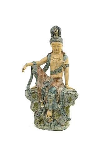Yogi & Yogini naturals Guanyin Boeddha van compassie China (24x14x40 cm )