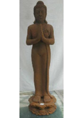 Yogi & Yogini naturals Staande Boeddha Thailand (ALLEEN AFHALEN!)