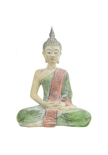 Yogi & Yogini naturals Mediterende Boeddha Thailand (33x19x43 cm)