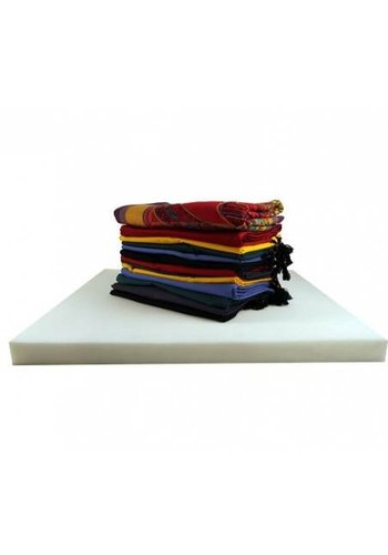 Yogi & Yogini naturals Meditatiemat foam vulling voor meditatiematten (65x65x5 cm)