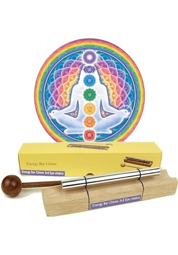 Yogi & Yogini naturals Klankstaaf Chakra Healing 6e chakra-toon
