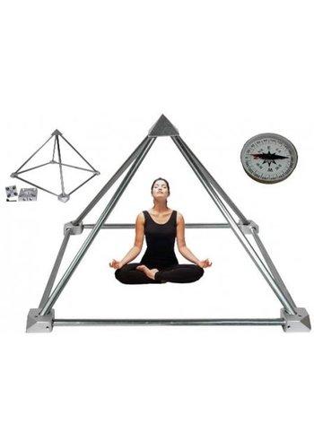Yogi & Yogini naturals Meditatie Piramide bouwpakket zonder buizen
