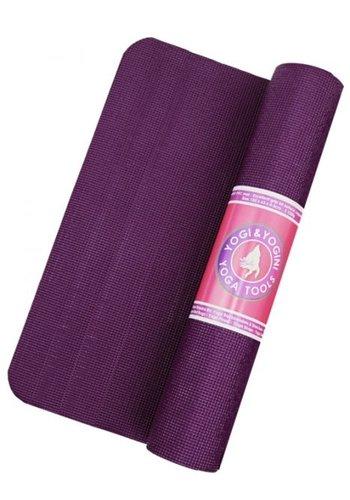 Yogi & Yogini naturals Yogamat violet (185x63x0,5 cm)