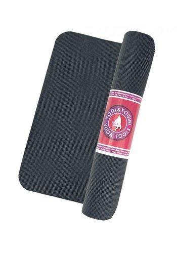 Yogi & Yogini naturals Yogamat zwart (185x63x0,5 cm)