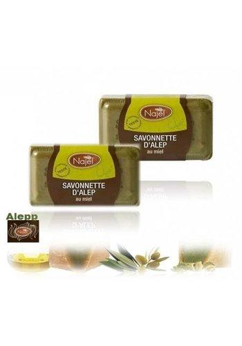 Najel Aleppo Aleppo honingzeep (100 gram)