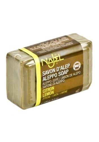 Najel Aleppo Aleppo zeep citroen/limoen (100 gram)