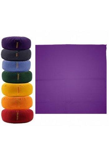 Yogi & Yogini naturals Meditatiemat hoes violet 7e chakra