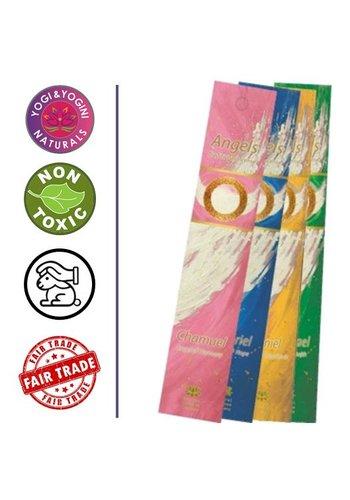 Yogi & Yogini naturals Wierook Angels: voordeelSET (7x3 pakjes)