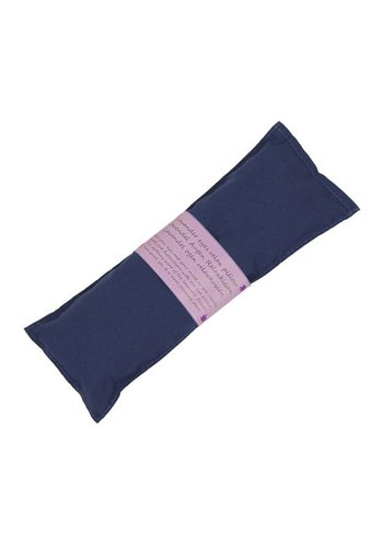 Yogi & Yogini naturals Oogkussen relax lavendel blauw (22x8 cm)