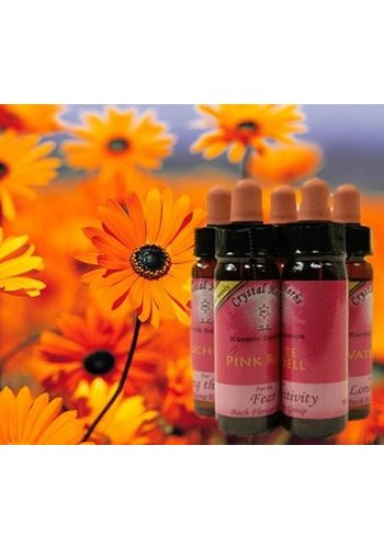 Crystal Herbs Pink Rose, Karmic Flower Essence (10 ml)