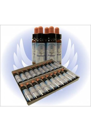 Crystal Herbs Angel Essences SET van 20 flesjes compleet (10 ml)
