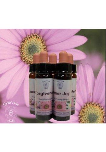 Crystal Herbs Inner Joy, Core Emotions Essence (10 ml)