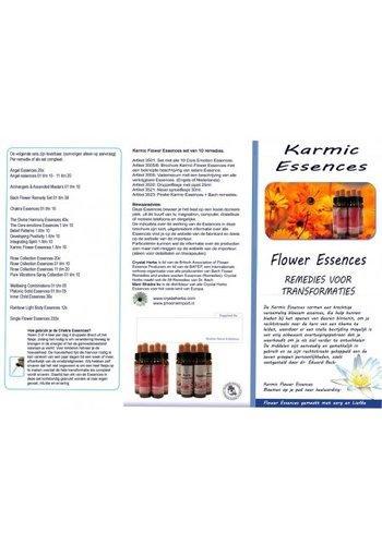 Yogi & Yogini naturals Karmic Essences folder (zwart/wit)