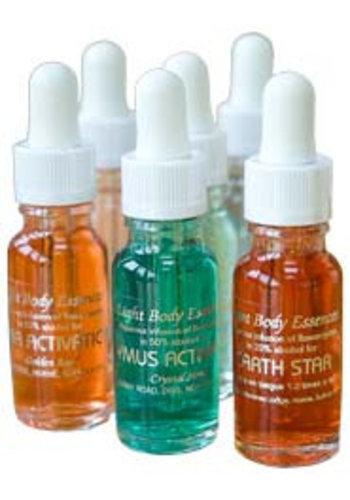 Yogi & Yogini naturals Rainbow Light Body Essences SET 12 flesjes (15 ml)