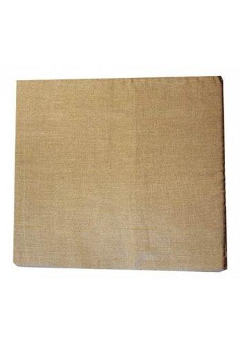 Yogi & Yogini naturals Meditatiemat hoes hennep naturel (65x65x5 cm)