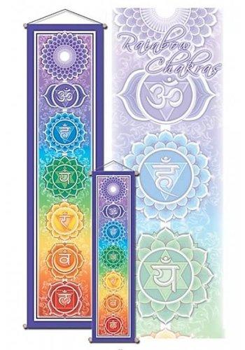 Yogi & Yogini naturals Chakra banner groot (30x120 cm)