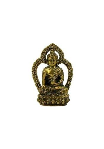 Yogi & Yogini naturals Minibeeldje Boeddha Ratnasambhava -- +/- 33 g; 4 cm