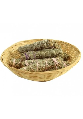 Yogi & Yogini naturals Shasta Sage Smudge klein 12 in mandje