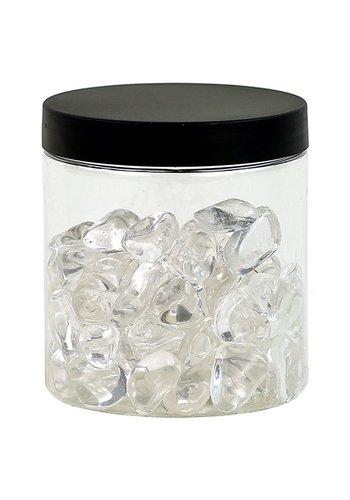 Yogi & Yogini naturals Bergkristal AA klein in transp. pot