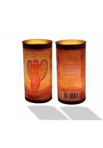 Yogi & Yogini naturals Affirmatiekaars Engel van geborgenheid (14x6 cm)