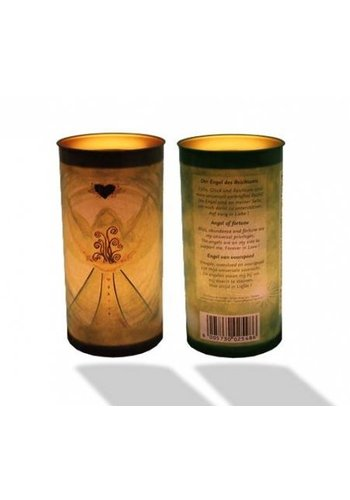 Yogi & Yogini naturals Affirmatiekaars Engel van voorspoed (14x6 cm)
