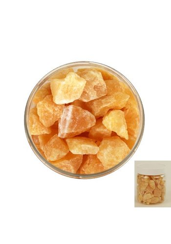 Yogi & Yogini naturals Calciet Oranje chips in pot