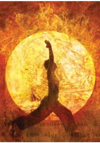 Yogi & Yogini naturals Ansichtkaarten: Yoga (15x10.5 cm)