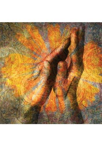 Yogi & Yogini naturals Dubbele kaarten Gevouwen handen