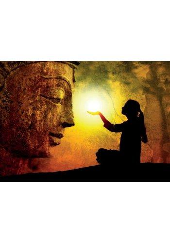Yogi & Yogini naturals Ansichtkaarten: Hands full of light (15x10.5 cm)