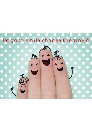 Yogi & Yogini naturals Ansichtkaarten: Let your smile.. (15x10.5cm)