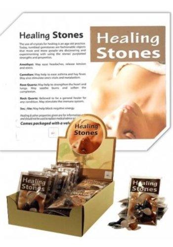 Yogi & Yogini naturals Healing Stones 24 SETS met gratis display (25x18.5 cm)