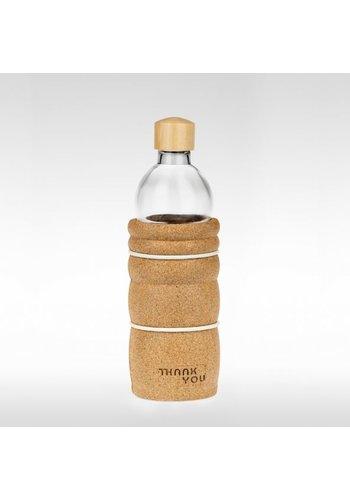 Yogi & Yogini naturals THANK YOU vitaalwater drinkfles (500 ml)