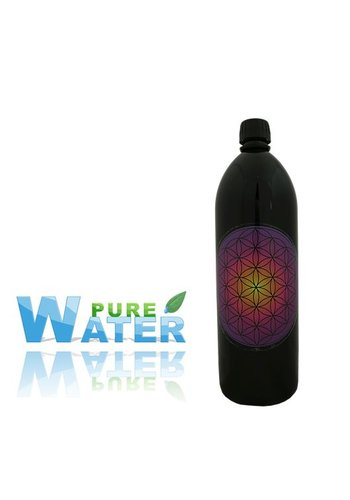 Yogi & Yogini naturals Drinkfles Miron violet /Flower of Life violet (1 liter)