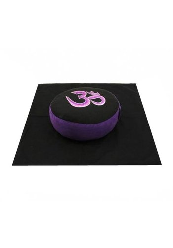 Yogi & Yogini naturals Meditatie SET AOUM zwart/paars