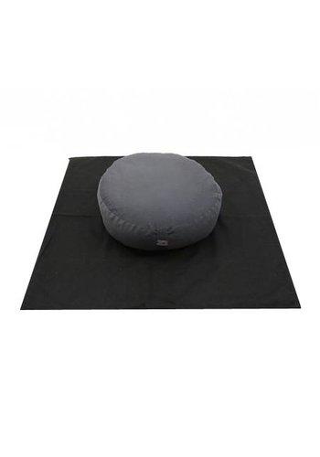 Yogi & Yogini naturals MeditatieSET antraciet/zwart